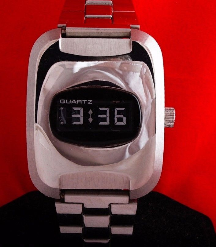 Vintage Optel Lcd Digital Watch With Dsm Display Digital Watch Lcd Digital
