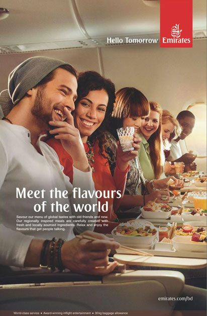 Emirates Airlines Press Ad - Ads of Bangladesh