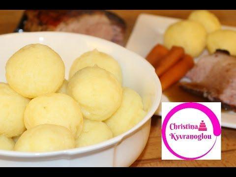 Kartoffelklöße selber machen einfach und schnell - Anleitung für Kartoffel Knödel - YouTube