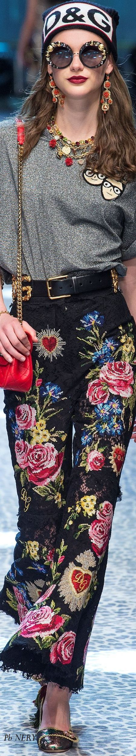 Dolce & Gabbana Fall 2017 RTW THANK YOU DINA, THIS IS FOR THE ROYAL RECOGNITION BOARD