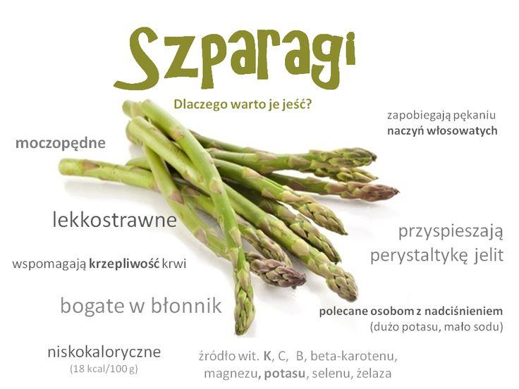 Coś więcej o szparagach :) Dlaczego warto je jeść? #szparagi   #zdrowie   #uroda   #warzywa   #przekąska   #yummy #lekkostrawne   #likes   #niskokaloryczne    #PrzepisNaMłodość