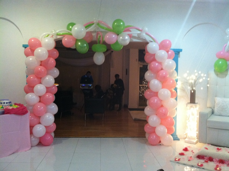 Babyshower balloon designs