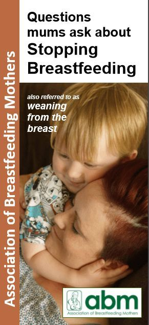 Also referred as Weaning From the Breast Should I stop breastfeeding now? It's up to you to decide when you want to stop breastfeeding, but research shows that many mums wish they'd bre…