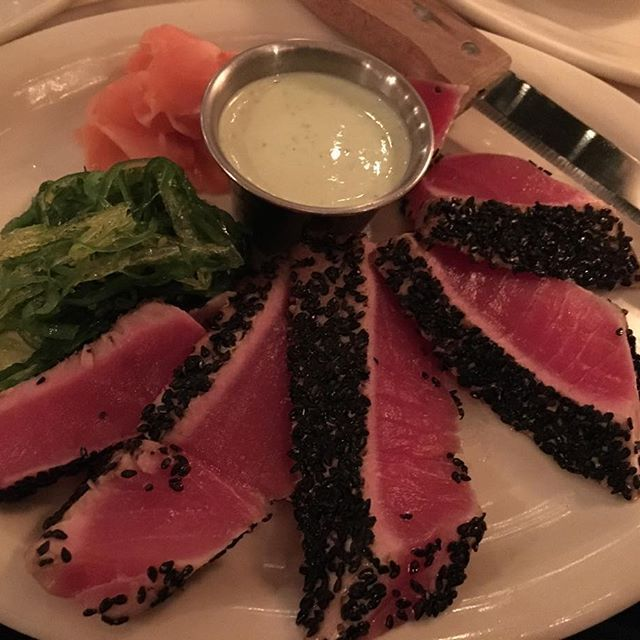 Ahi Tuna.  It's what's for dinner. #yum