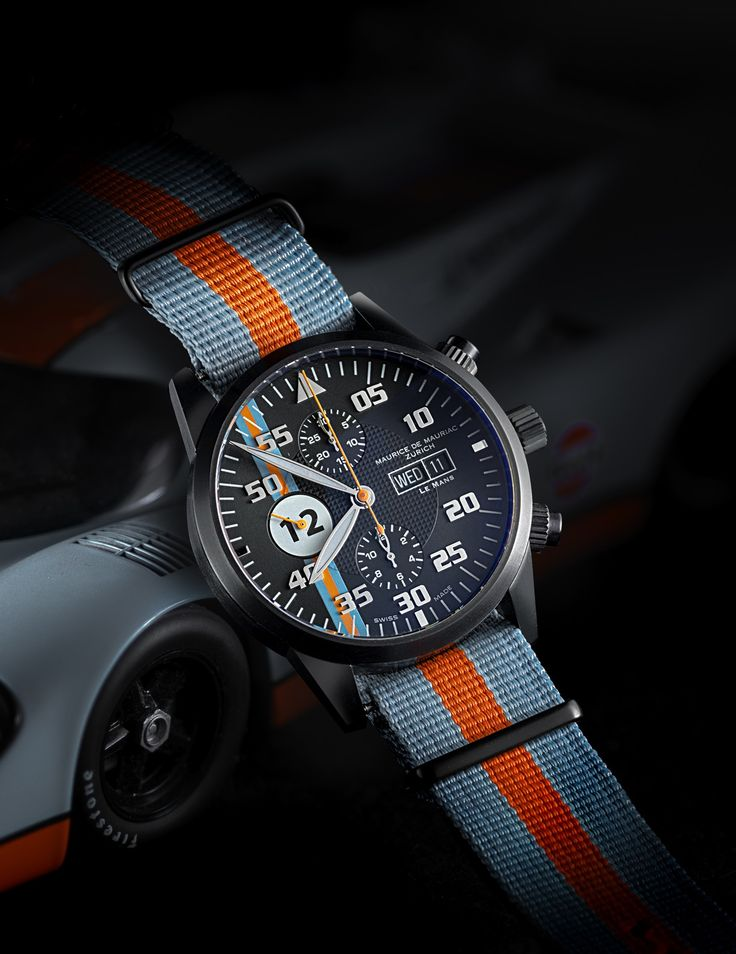 You can choose your own lucky number if you order the Le Mans Racing Watch from Maurice de Mauriac. https://www.youtube.com/watch?v=Bbwd8uC6LfU watches for men, Swiss watches