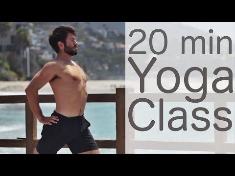 20 Minute Yoga Workout Lunge Flow with Tim Senesi - YouTube