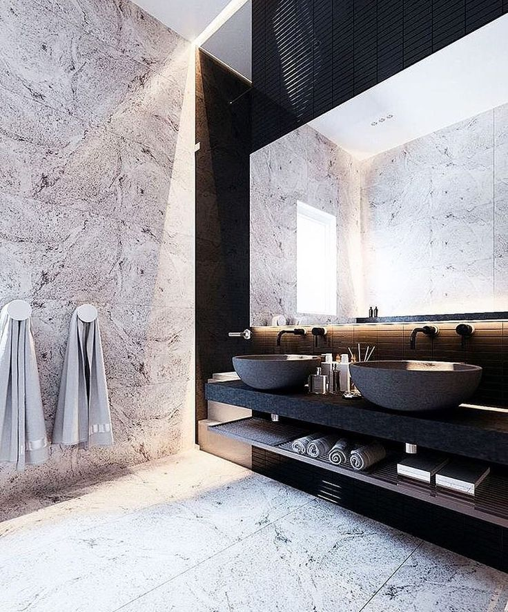 Best 25 modern contemporary bathrooms ideas only on for Modern guest bathroom