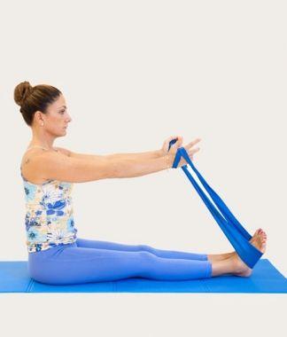 Pilates: con l'elastico potenzi gambe, braccia e schiena | Ok salute