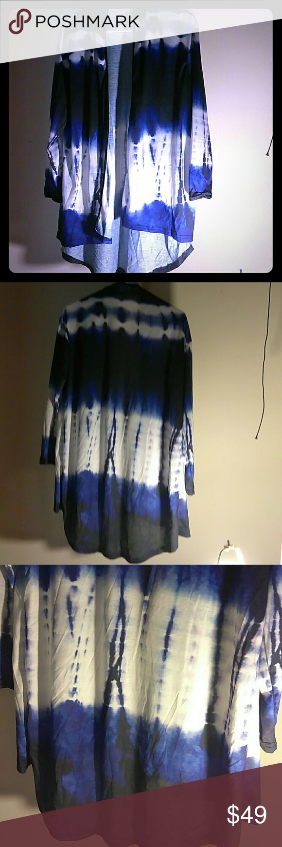 Tie dye hi-low cardigan Brand New never wornTie dye long sleeve stretch casual/dinner/party cardigan & Other Stories Sweaters Cardigans