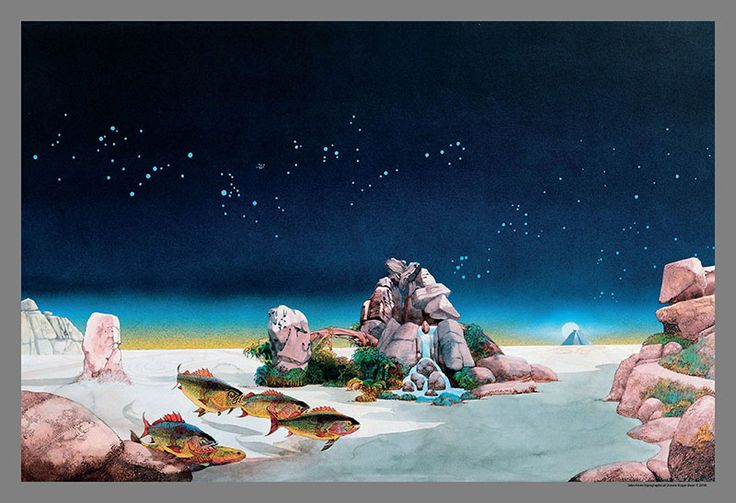 """Roger Dean """"Tales From Topographic Oceans"""""""