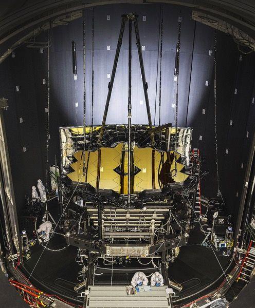 El Telescopio Espacial James Webb empieza sus pruebas de frío | Microsiervos (Espacio)