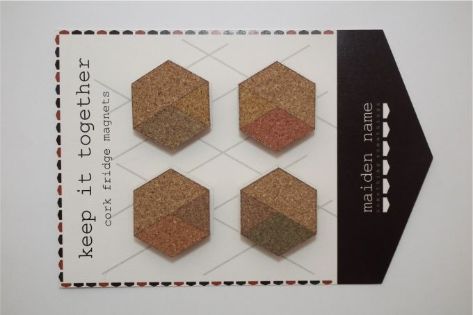Cork fridge magnets by Maiden Name on hellopretty.co.za