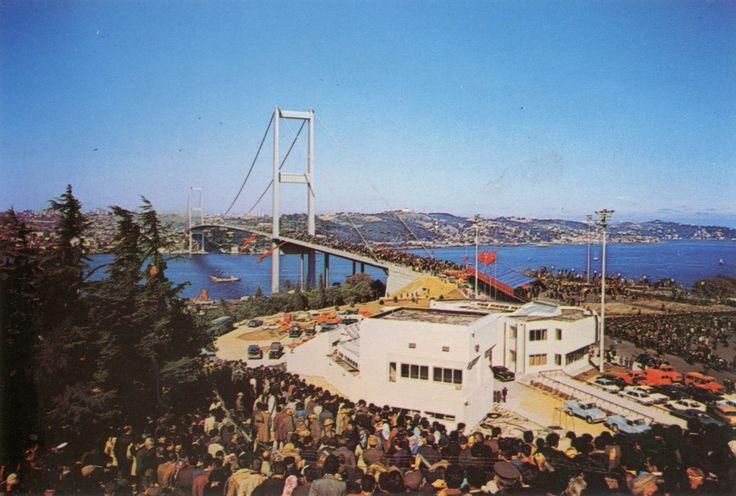 Boğaziçi Köprüsü Açılış Töreni / 30 Ekim 1973 SALT Araştırma, Fotoğraf Arşivi