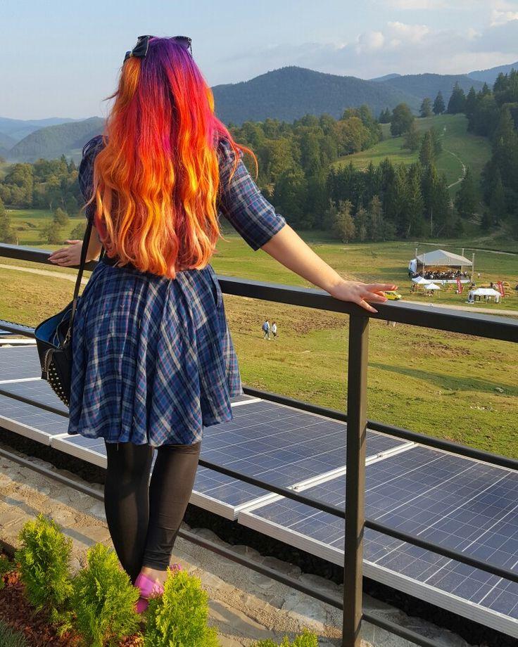 Oh my sunset hair!