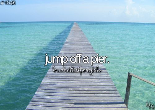 Bucket list? If I'd be brave enough..