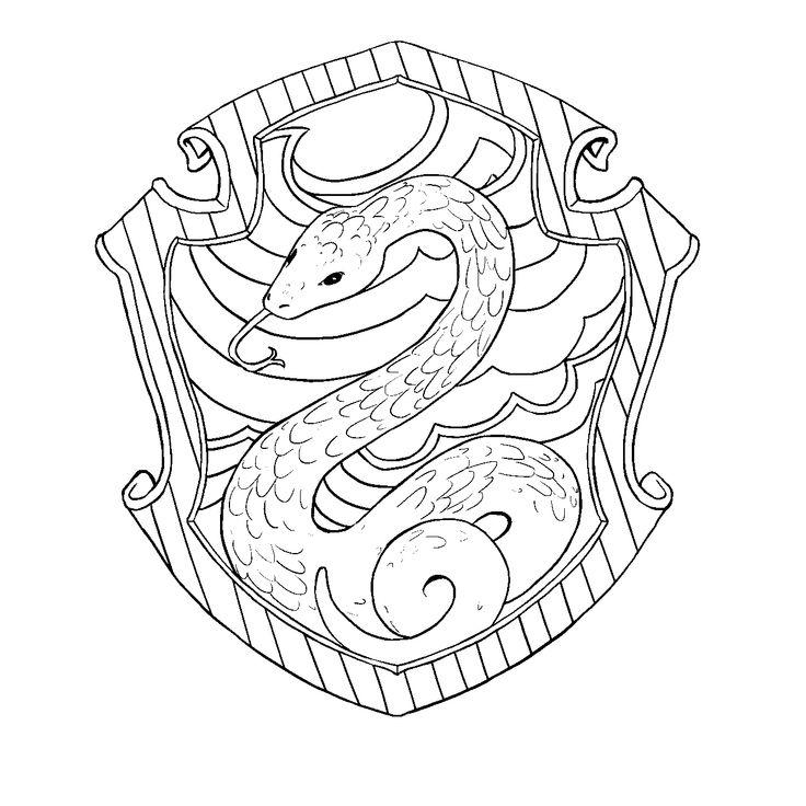 Hufflepuff Crest Pottermore Tattoos Livros Desenhos