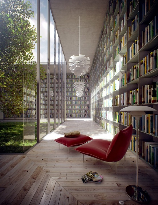 Modern Library Room Ideas By Evermotion Library Room