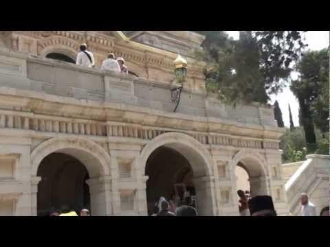 Mihail Bucă, Iubi-Te-voi Doamne, Ierusalim, Biserica Sf. Maria Magdalena - YouTube