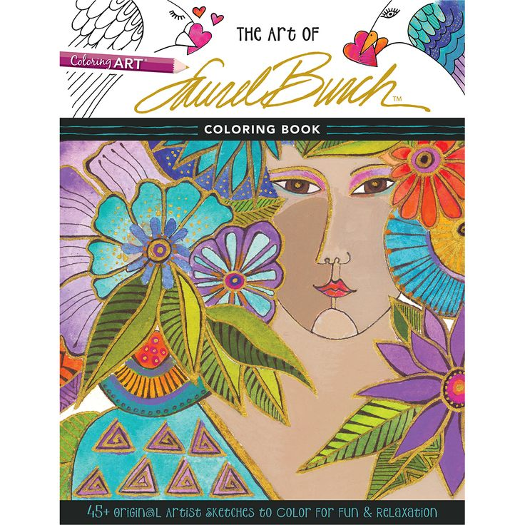 C T Publishing Art Of Laurel Burch Coloring CT Butch Book Now You Can Study The Fantastical Designs In