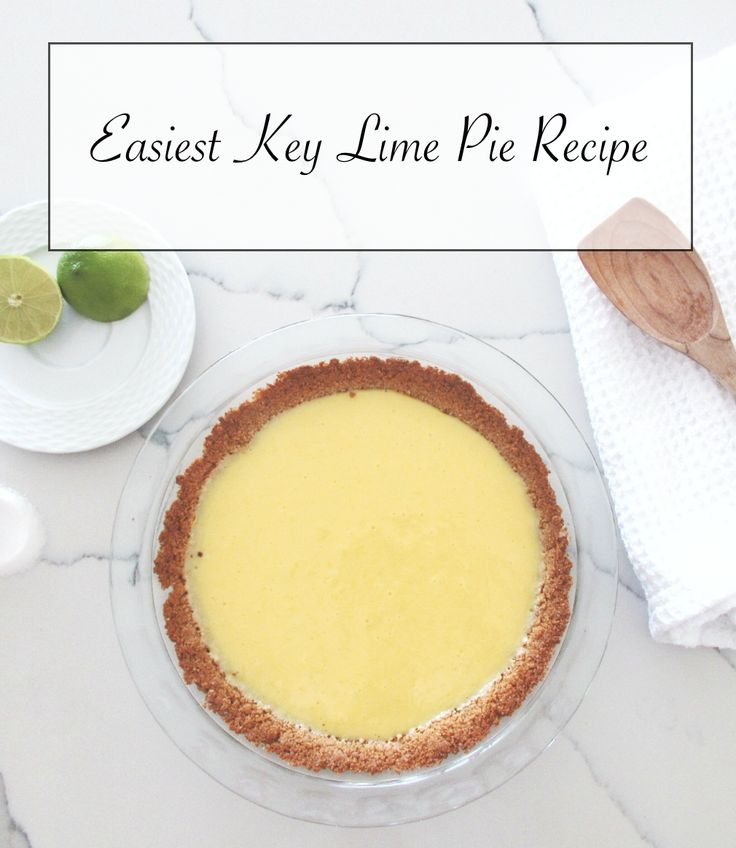 easiest and tastiest key lime pie #recipe