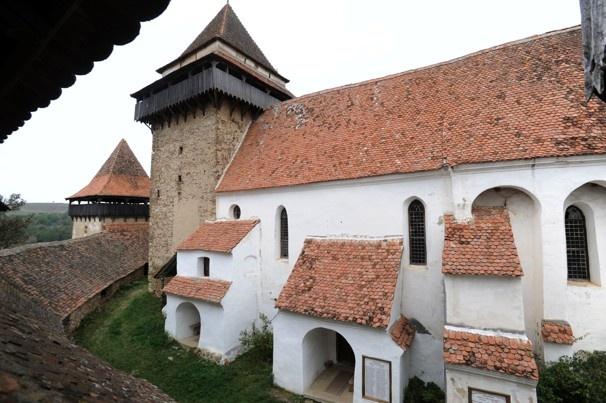church in Viscri, Transylvania