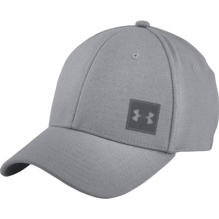 Under Armour Men's Wool Low Crown Hat, Size: Medium/Large, Gray