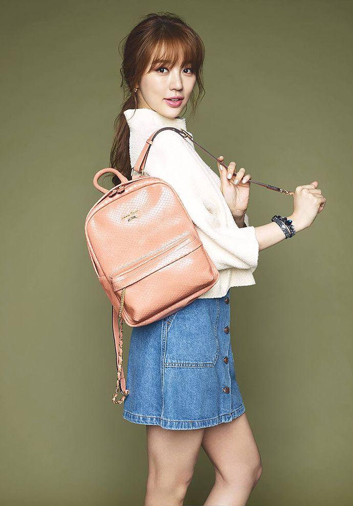 Yoon Eun Hye for Samantha Thavasa F/W 2015.