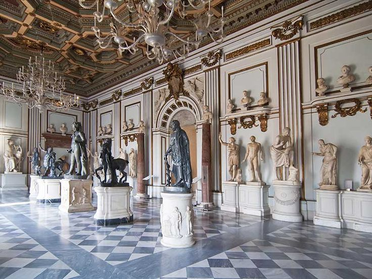 People are allowed to touch Michelangelo statues
