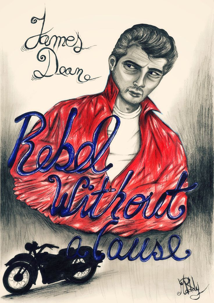 James Dean- Rebel Without a Cause