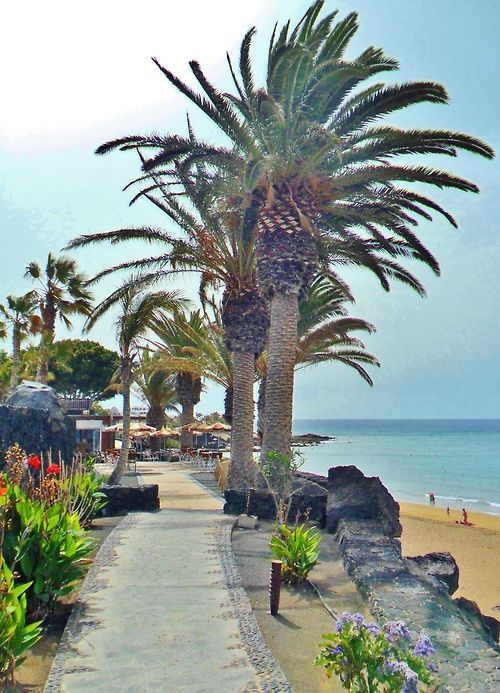 Puerto del Carmen, Lanzarote, Canary Islands