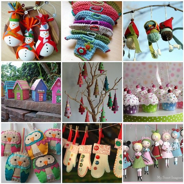 Decorating Ideas > Pinterest Christmas Craft Ideas  Christmas Crafts  ~ 174913_Christmas Ornaments Ideas Craft