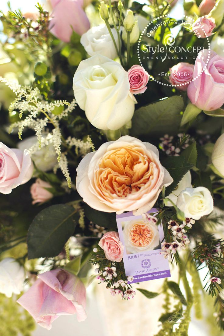 These #davidaustinroses are absolutely amazing! They look great in the arrangements and they smell divine...absolutely recommended!