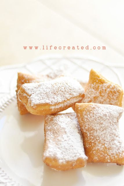 French Beignets...easy Paula Deen Recipe http://www.foodnetwork.com/recipes/paula-deen/french-quarter-beignets-recipe/index.html