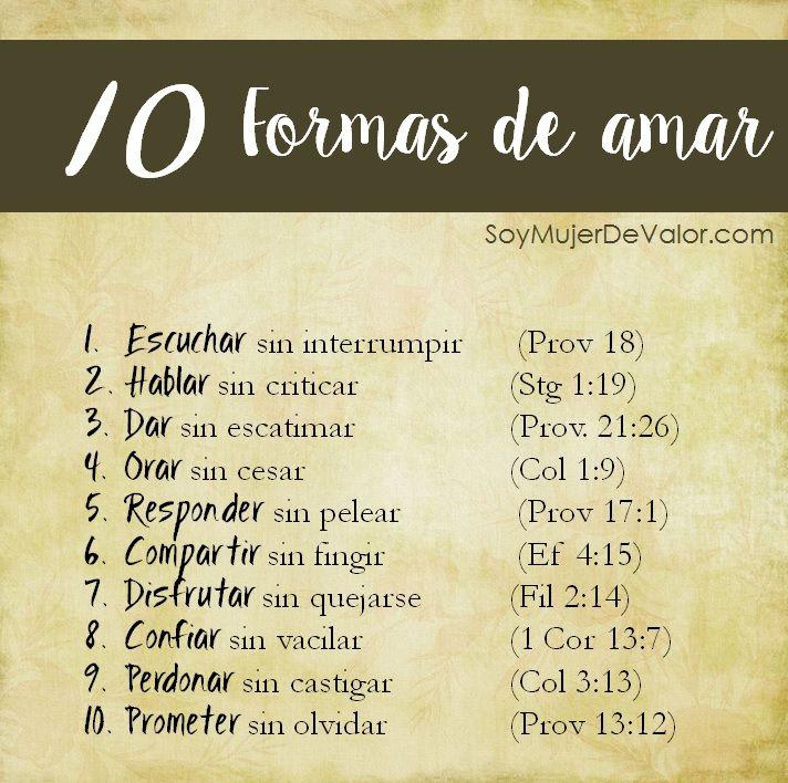 10 Formas de amar <3 <3