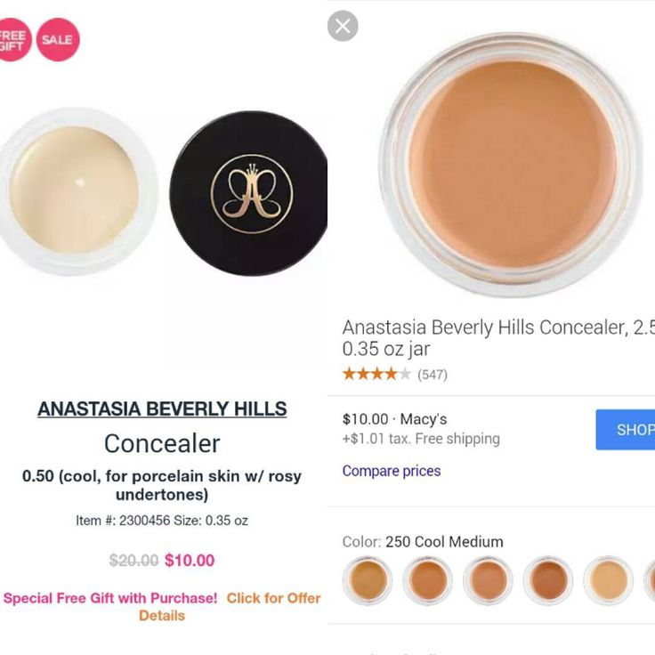 Anastasia Beverly Hills concealer is on sale for half off at Ulta and Macy's! (Still full price at ABH and Sephora, but they could drop their prices too.) #anastasiabeverlyhills #concealer #sale #ulta #ultabeauty #macys #beauty #beautyblogger #beautyobsessed #beautyjunkie #makeup #makeuplover #hotdeal #beautydeals #beautysteals #bargainhunter #beautyonabudget http://ameritrustshield.com/ipost/1549918980562474966/?code=BWCaxnbD9fW