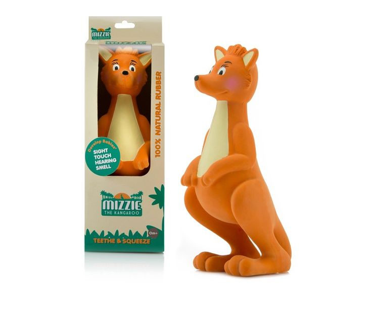 Mizzie the Kangaroo is a teething toy fit for any Australian teething baby. You can buy online now