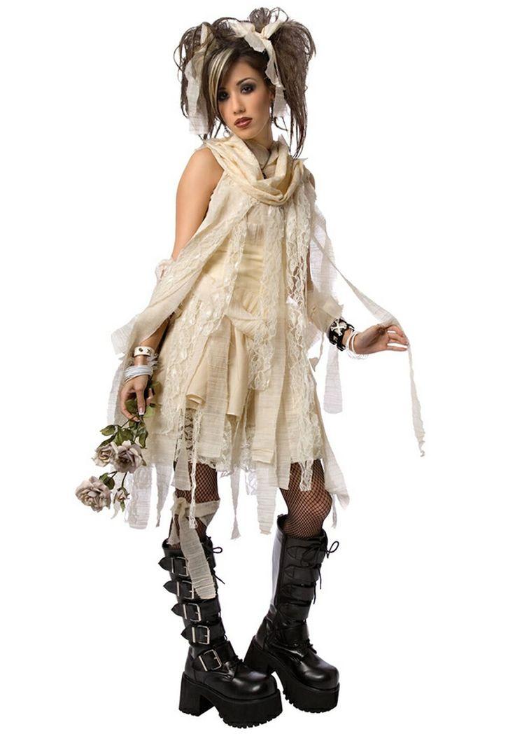 Gothic Teen Mummy Costume