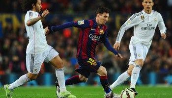 Marcelo, Lionel Messi, Cristiano Ronaldo
