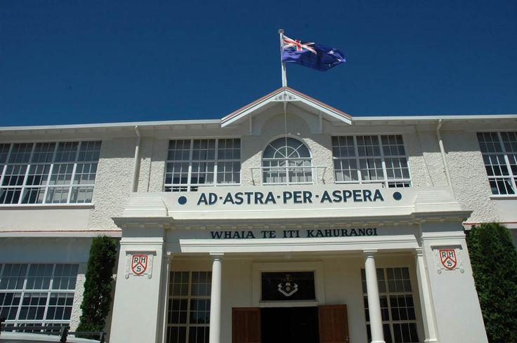 Building at Rotorua Boys' High School