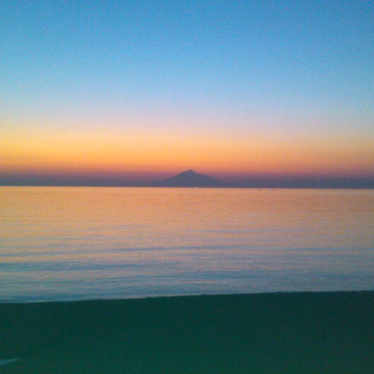 Myrina sunset, Limnos island, GREECE 2014 photo by Electra Koutouki