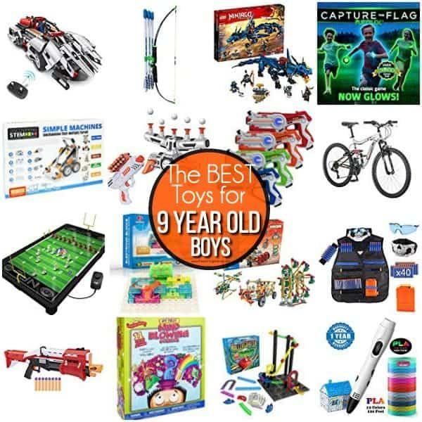 This List Contains The Best Toys For 9 Year Old Boys This List Contains Tried An 9 Year Old Christmas Gifts 8 Year Old Christmas Gifts Boys Toys For Christmas