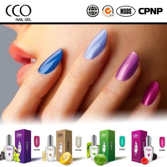 Eden 15ML Soak Off UV Gel Polish Nail Gel manicure wholesale nail supplies