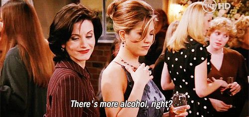 You know that there are some problems that can only be solved by heavy drinking. | 23 Things Close Female Friends Just Get