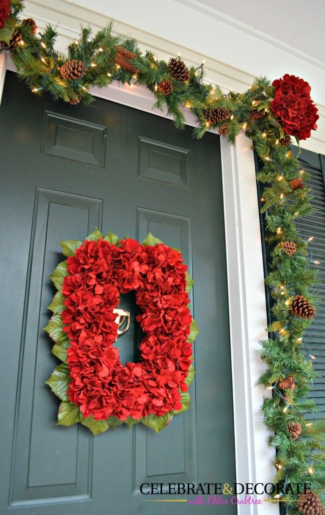 461 Best Christmas Doors Wreaths Balls Images On