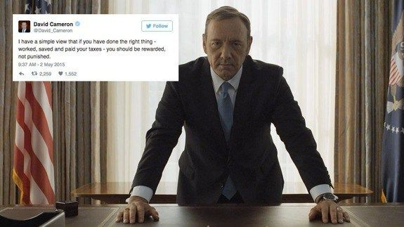'House of Cards' shuts down David Cameron with 1 epic tweet http://ift.tt/1PYdTVD  LONDON  Sometimes all you need to get your point across on Twitter is a simple GIF.  SEE ALSO: David Cameron and his family wont gain from offshore trusts in the future  The official House of Cards Twitter account demonstrated this perfectly Thursday evening wading in on the news that UK Prime Minister David Cameron had shares in his fathers offshore fund with a timely bit of Frank Underwood evil eye…
