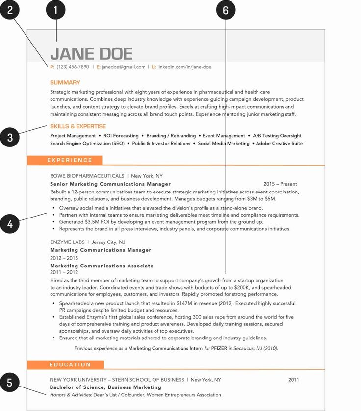 Social Media Resume Template 2019 Social Media CV Template