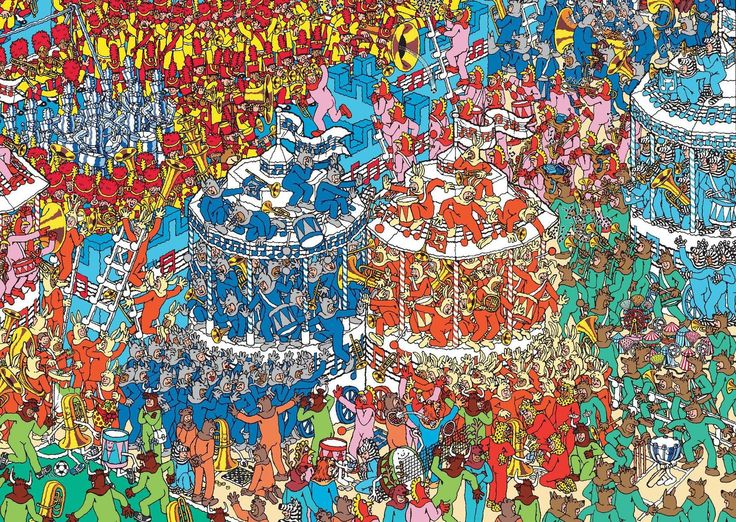 hardest where's wally - Google Search