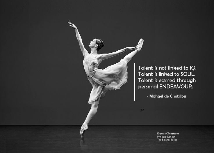 Talent is not linked to IQ. Talent is linked to SOUL. Talent is earned through personal ENDEAVOUR. - Michael de Châtillon