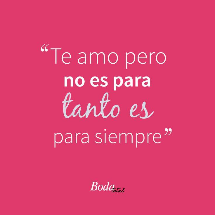 Comparte si tu amor es para siempre <3 #FilosofíaBodaTotal