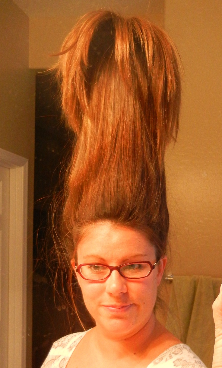 Tall Hair If Your Hair Is Long Enough Put A 2 Liter